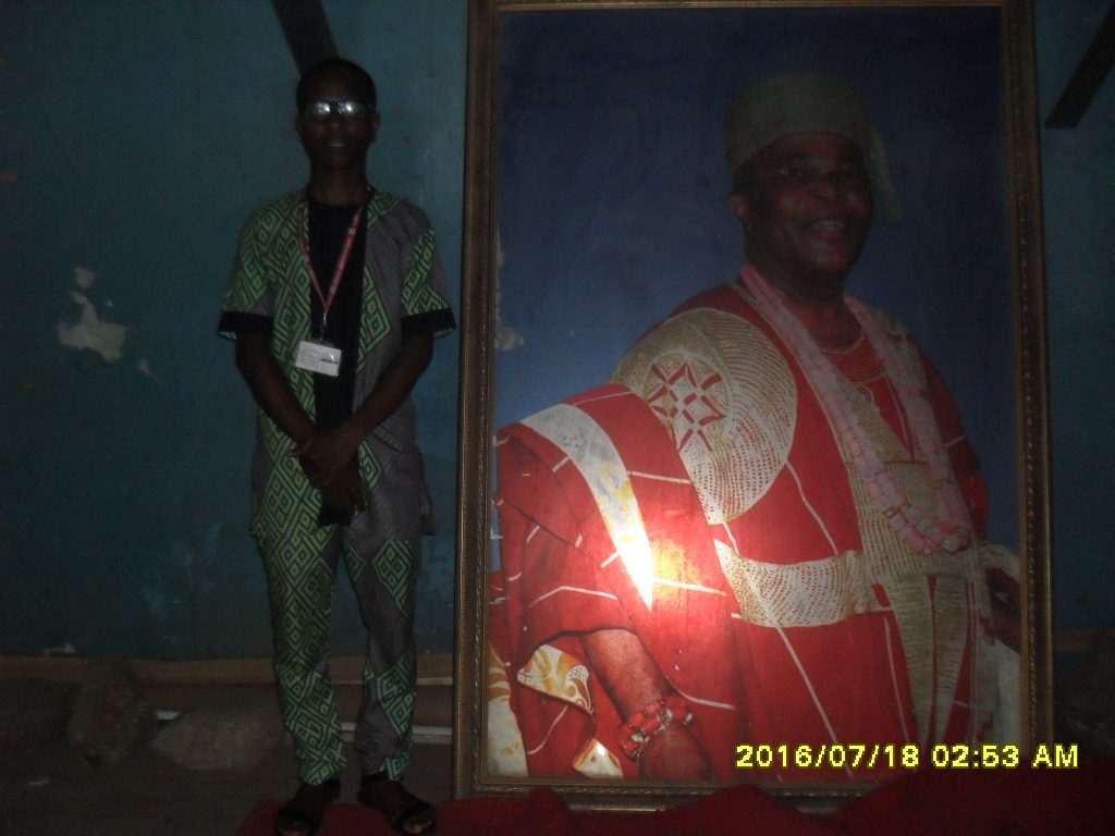king of Egba land