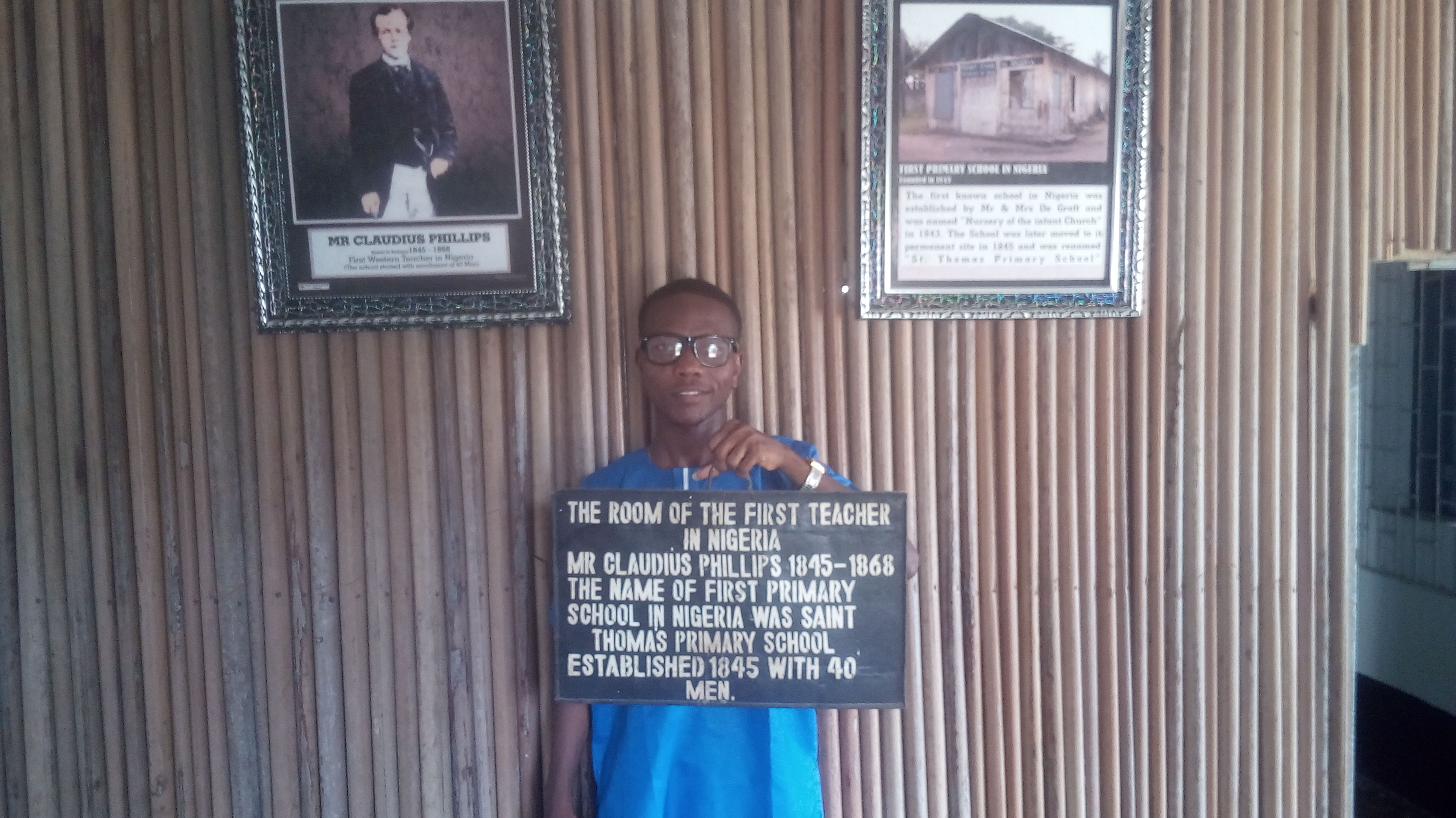 rooms inside the first storey building in Nigeria.