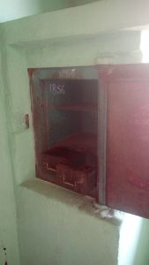First modern safe in Nigeria. (1856)