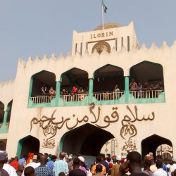 Emir of Ilorin's palace