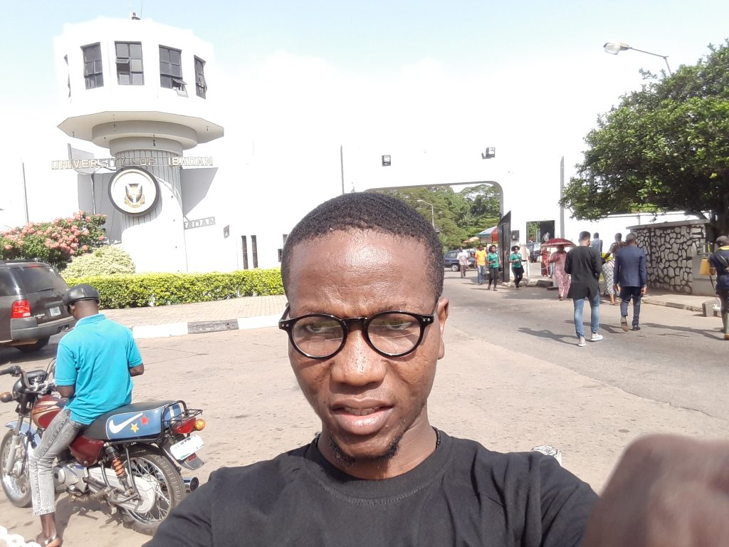 Main gate: University of Ibadan