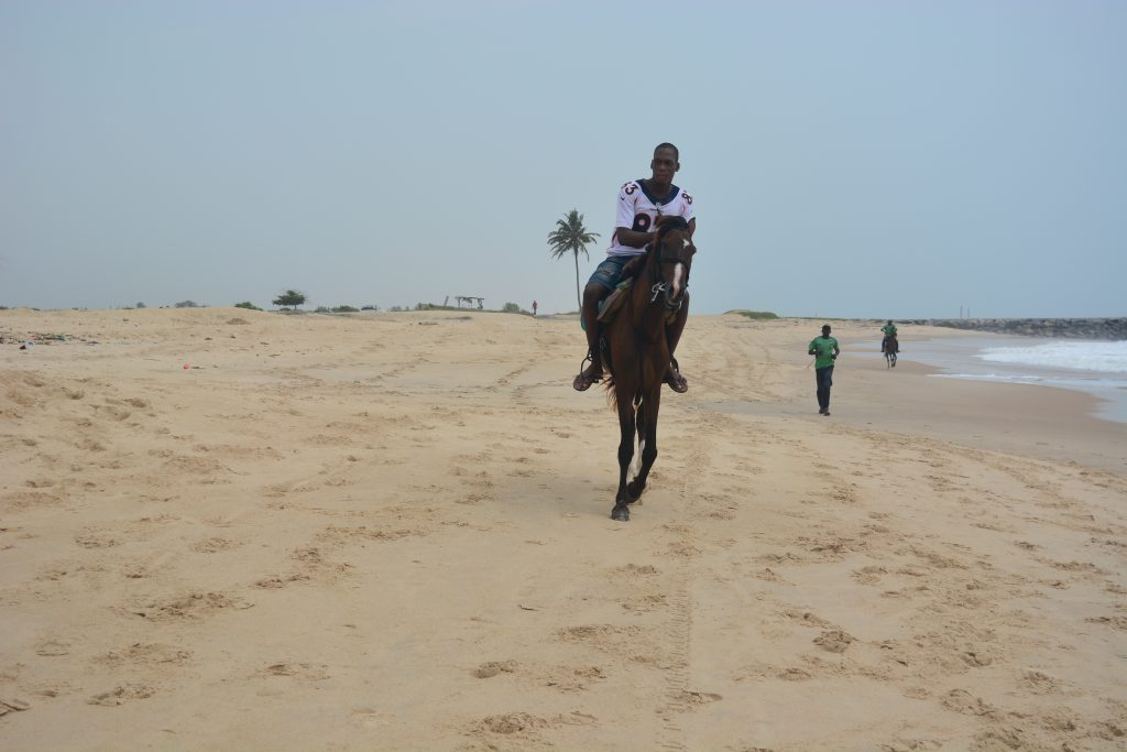 Horse riding in Elegushi Beach