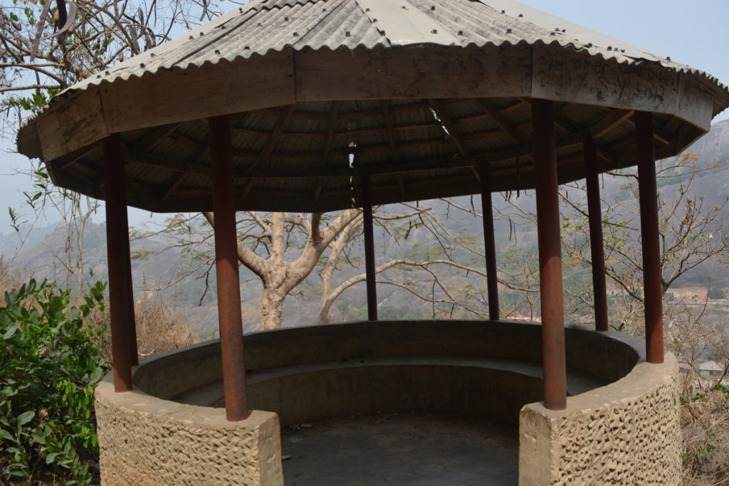 resting points in Idanre hills