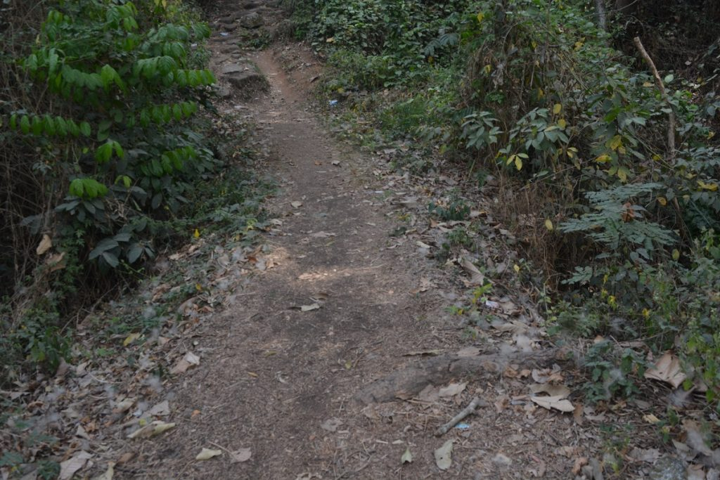 The valleys of Idanre hills