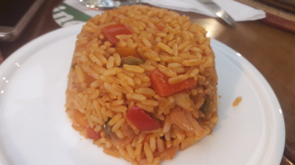 The backyard jollof rice