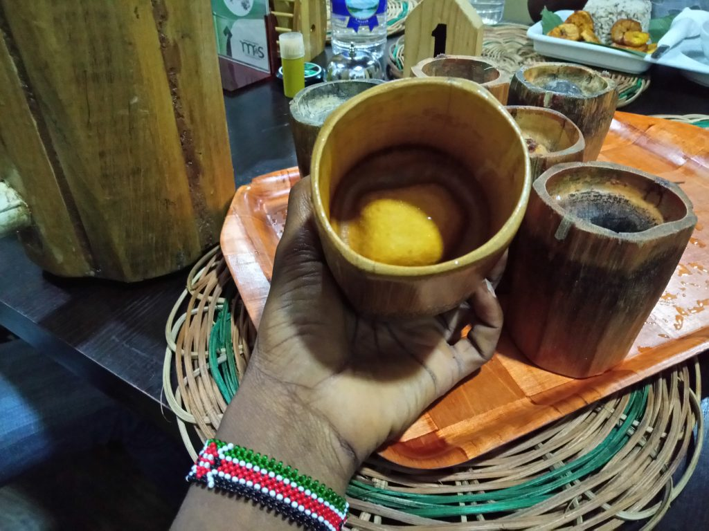 Traditional drinking cups