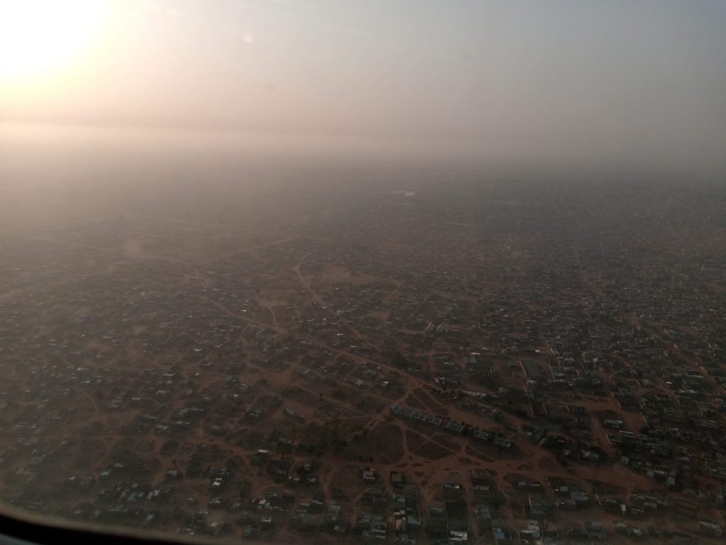 Spying on Kano from heaven