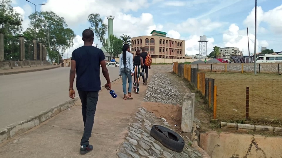 Walking on the streets of Anambra