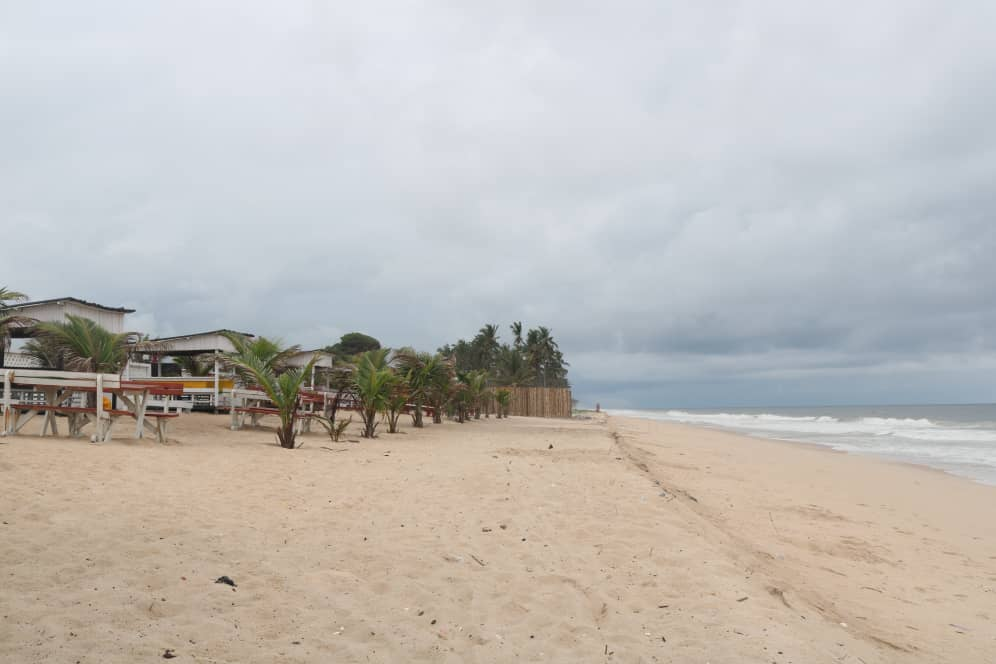 Beach front at Redline Leisure And Resort